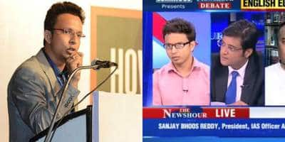 Watch: Bigg Boss 10 Contestant Navin Prakash Shut Arnab Goswami's Mouth!