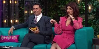 ट्विंकल खन्ना और अक्षय कुमार आ रहे हैं कॉफी विद करण पर ! मिस किया तो पछताइयेगा।