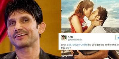 KRK's Take On Ranveer Singh's Befikre Poster Will Make You SICK