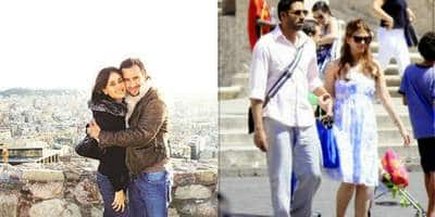 17 Bollywood Celebrity Couples And Their Honeymoon Pictures!