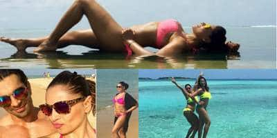 Bipasha Basu and Karan Singh Grover Are Chilling in the Maldives