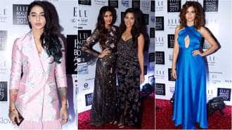 Here's How Bollywood Actresses Sizzled The Elle Beauty Awards 2017 Red Carpet!