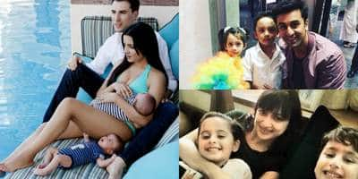 In Pictures: Bollywood Celebrities Who Have Awwdorable Twins