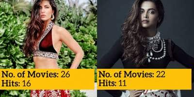 Guess Which Top Bollywood Actress Has The Most Number Of Hits!