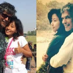 खुद से आधी उम्र की लड़की को डेट कर रहे है एक्टर और मॉडल मिलिंद सोमन !
