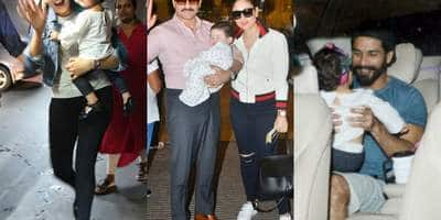Here's Poof That Bollywood Kids Are Taking Over Airport Spottings Like A Boss!