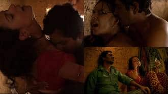 WATCH: Nawazuddin Siddique Kisses And Makes Love In Babumoshai Bandookbaaz's Barfani Song!