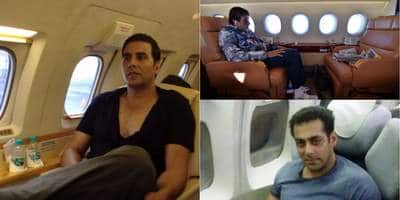 Pictures: Inside The Private Jets Of Bollywood & Hollywood  Celebrities
