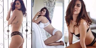 In Pictures: Badshaho Actress Esha Gupta Is Raising The Temperature Will This Superhot Lingerie Photoshoot!