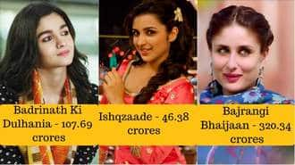 17 Bollywood Actresses And Their Most Successful Films At The Box Office