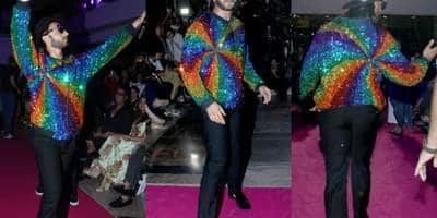 Ranveer 'Rainbow' Singh Steals The Show With His Quirky Appearance Yet Again!