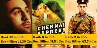 Ranked: 15 Highest Grossing Bollywood Movies At USA/Canada Box Office