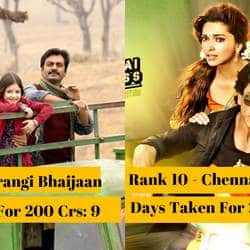 Ranked: 12 Bollywood Movies That Were Quickest To Reach The 200 Crore Club At Box Office!