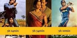 20 Longest Running Bollywood Films By Screen Time