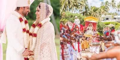 Aftab Shivdasani Repeats His Wedding Vows With Nin Dusanj In Dreamy Wedding In Sri Lanka