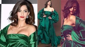In Pictures: Sonam Kapoor Looked Like A Stunning Green Goddess At Vogue Women Of The Year Awards 2017