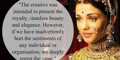 Aishwarya Rai Responds to the Open Letter That Called Her Ad Racist