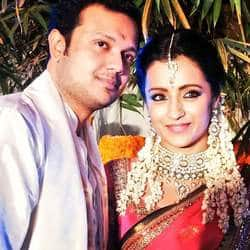 Trisha signs fiancé Varun Manian's upcoming venture