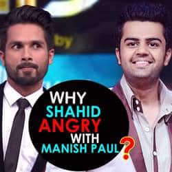 Shahid Kapoor Complains About Manish Paul To Makers Of Jhalak Dikhla Jaa Reloaded?