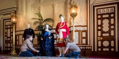 Costumes worn by AIi Fazal and Judi Dench in Victoria & Abdul will be displayed at the former Royal House!