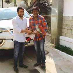 Suriya Gifts Toyota Fortuner To Hari On Si 3 Success