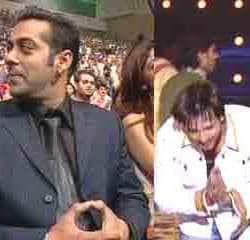 Salman Khan Bumps Into Vivek Oberoi, Walks Off Ignoring Him