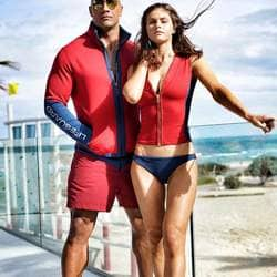 'She takes #BAYWATCH to another level': Dwayne On Alexandra Daddario