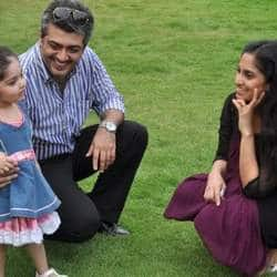 Ajith Enjoying Family Time In Goa