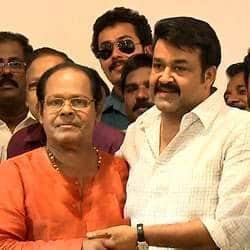 Picture of Mohanlal kissing Innocent goes viral
