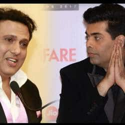 I Find Karan Johar More Jealous And Dangerous Than David Dhawan: Govinda