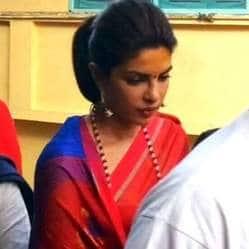 प्रियंका चोपड़ा हैं 'बाजीराव मस्तानी' शूट की शूटिंग से खुश