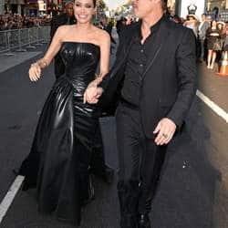 Brad Pitt gets involved in a scuffle at Maleficent premiere