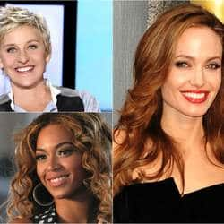 Angelina Jolie, Ellen DeGeneres, Beyonce Knowles make it to Forbes' 100 Most Powerful Women List