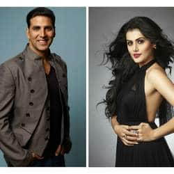 How did Taapsee become Akshay Kumar's leading lady?