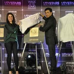 UTV Stars launches Walk of Stars in tinsel town