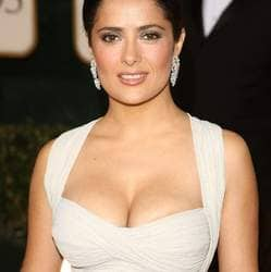 Salma Hayek talks openly on her acne depressive spells