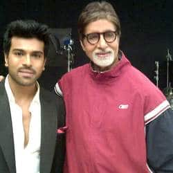 Ram Charan Tej takes Big Bs blessings for Zanjeer remake