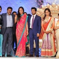 Chiranjeevi throws lavish reception party post sons marriage