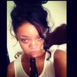Rihanna says sorry to granny for drinking beer on her funeral