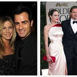 Not only Brad-Angie, but marriage is also on the cards for Aniston- Theroux?