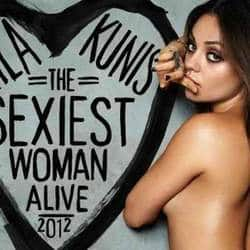 Mila Kunis named sexiest woman alive by Esquire mag