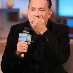 Tom Hanks drops F-bomb on live TV show