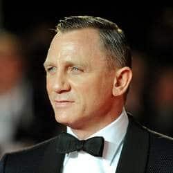 James Bond Daniel Craig voted Britain's favourite film actor