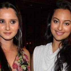 Sonakshi Sinha, Sania Mirza the best of friends of late
