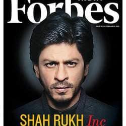 SRK tops Forbes India Celebrity list