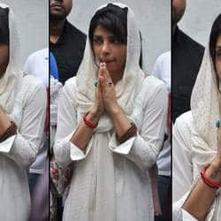 Bollywood comes in full presence to remember Priyanka Chopra's late father at condolence meet