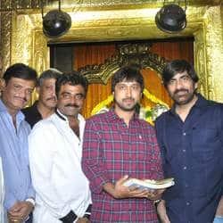 Ravi Teja-Hansika Motwani shoot a song for K.S. Ravindra's untitled project in Bangalore