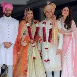 Soha Ali Khan - Kunal Khemu wedding pictures, and a bonus!