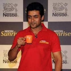 Suriya sings for a coffee brand