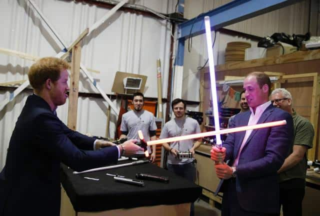 Prince William & Prince Harry have cameos in Star Wars: The Last Jedi